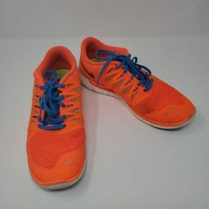 Nike Free 642198801 Lace Up Athletic Sneakers